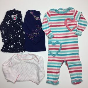 Other - 6 Months Baby Girl Long Sleeve Bundle